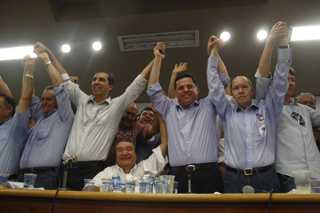 Articulista defende chapa com Demóstenes, Marconi e Eliton   Foto: Marco Monteiro