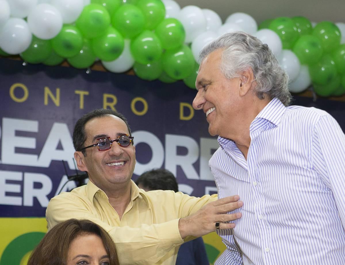 Chapa com Kajuru ao Senado e Caiado ao governo é oficializada | Foto: Leandro Vieira