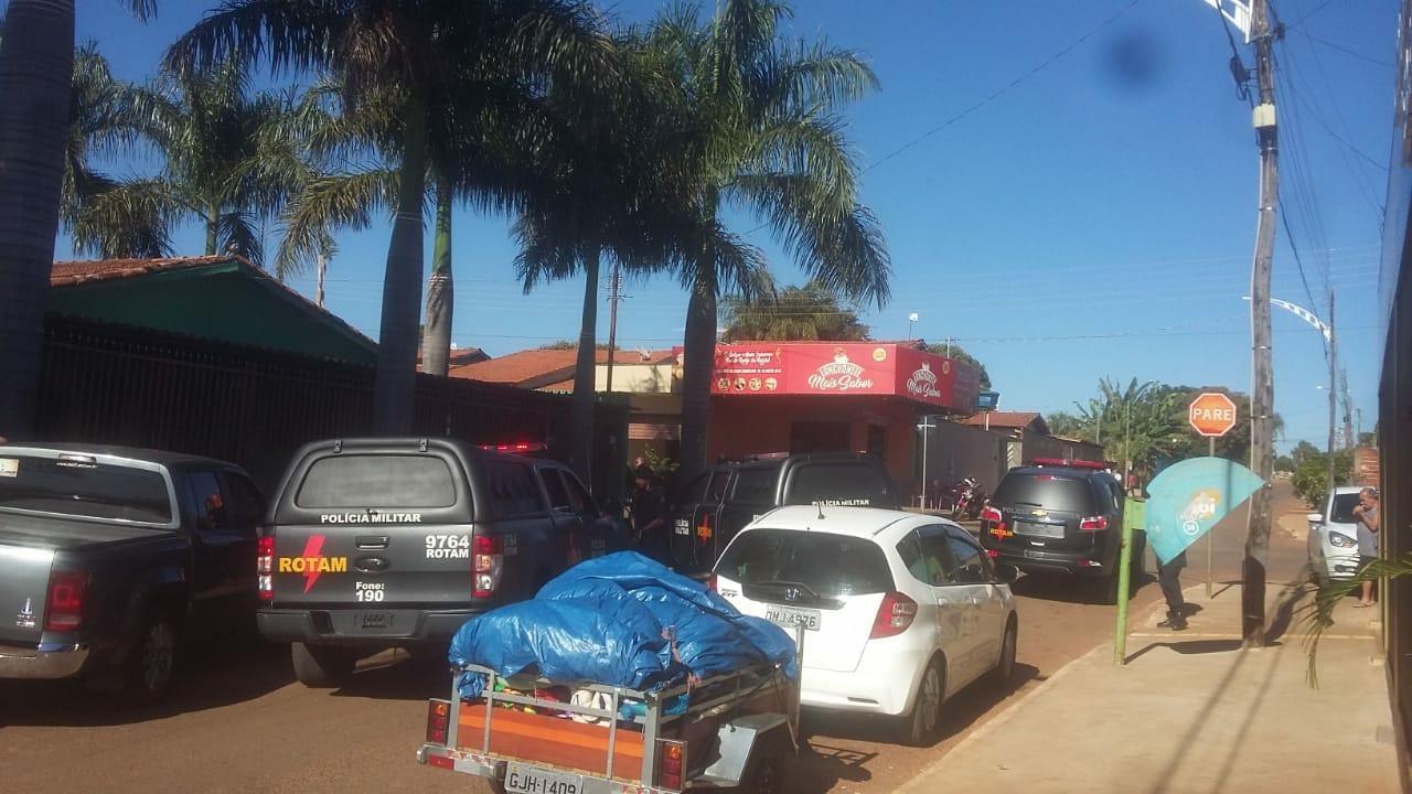 Três morrem em confronto com a Rotam em Terezópolis de Goiás | Foto: Leitor / Whatsapp