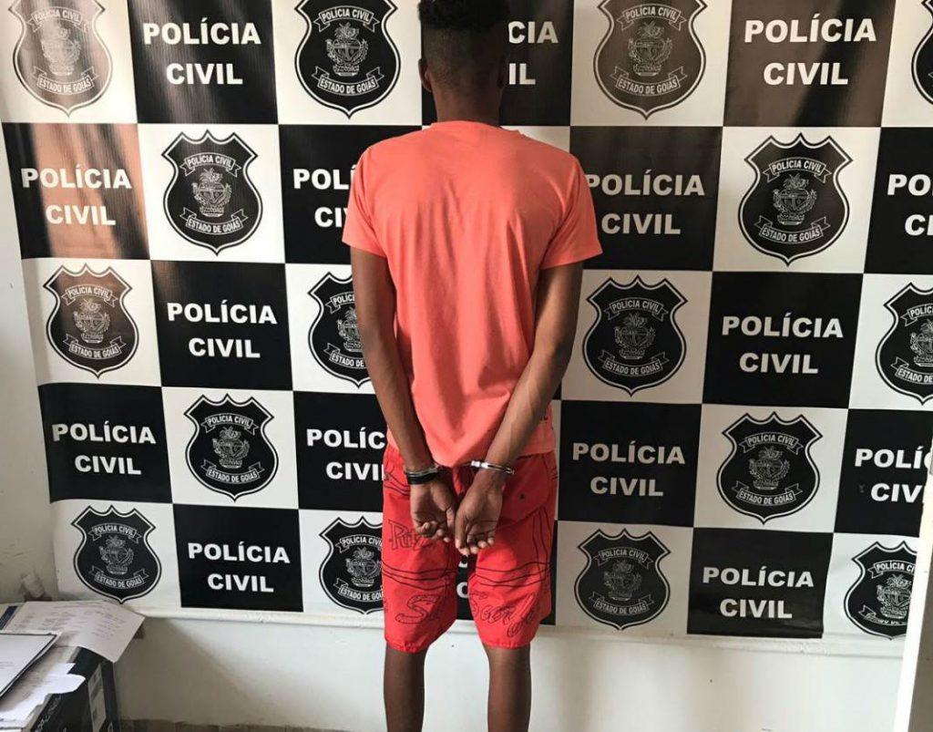 O homem estuprou sua irmã em três ocasiões quando eles moravam na zona rural de Teresina de Goiás | Foto: Reprodução/Polícia Civil