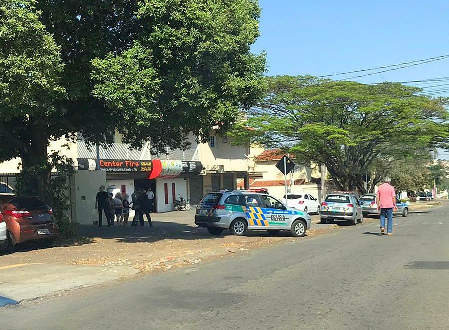 Confusão ocorreu na manhã desta sexta-feira, 10 | Foto: Leitor Folha Z