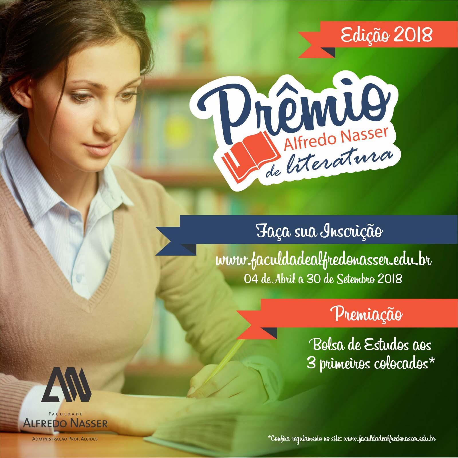 Edição de 2018 do Concurso Literário Unifan | Foto: Divulgação