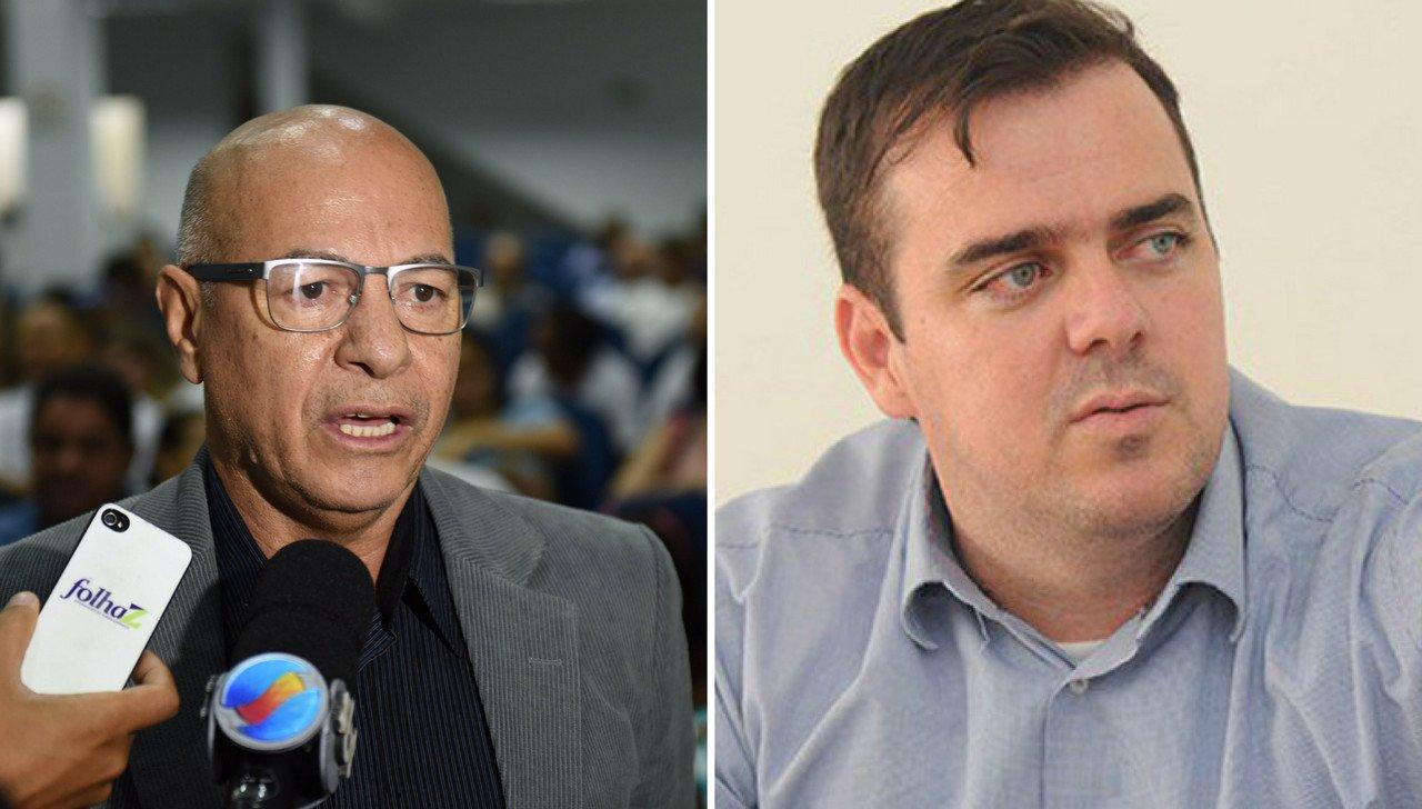 Professor Alcides e Gustavo Mendanha foram cruciais para que essa aliança concretizasse. Os dois são os nomes mais fortes de Aparecida de Goiânia | Fotomontagem: divulgação