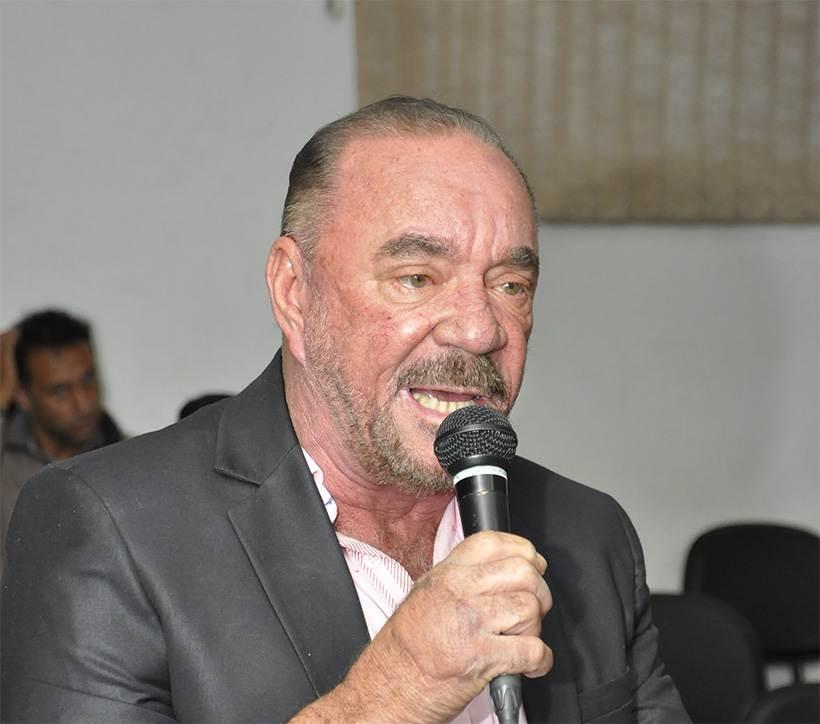 Vereador Edilson Ferreira (MDB) | Foto: Câmara de Aparecida