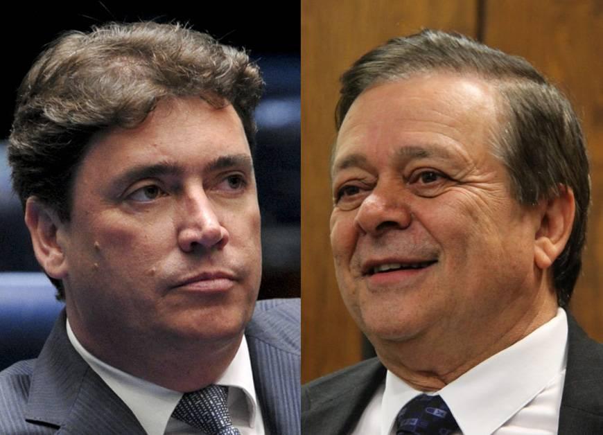 Senador Wilder Morais (DEM) e Jovair Arantes (PTB) | Foto: Reprodução
