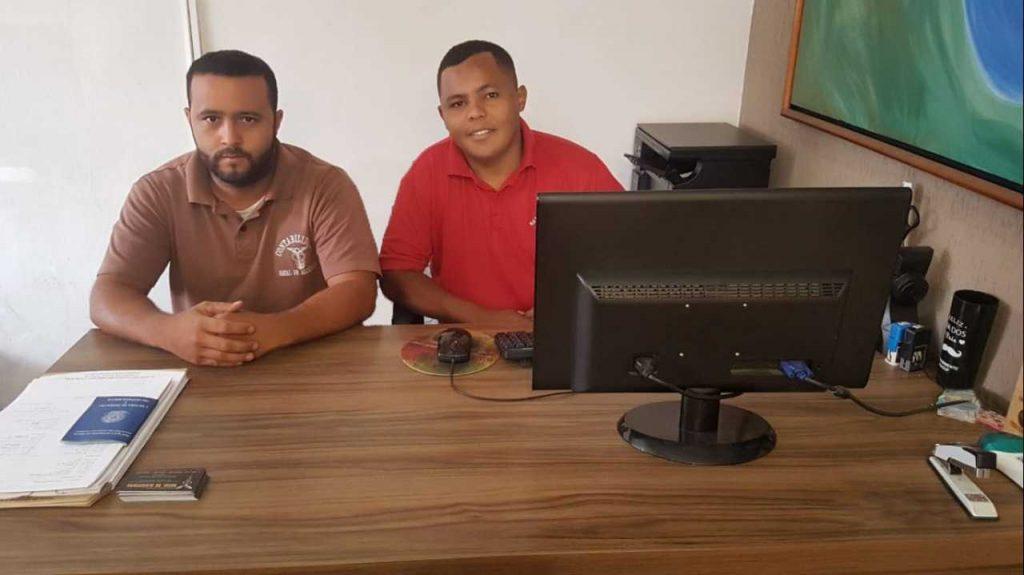 Aldair Brites e Antônio, sócio-proprietários da Natal de Alcântara Certificação Digital | Foto: Divulgação
