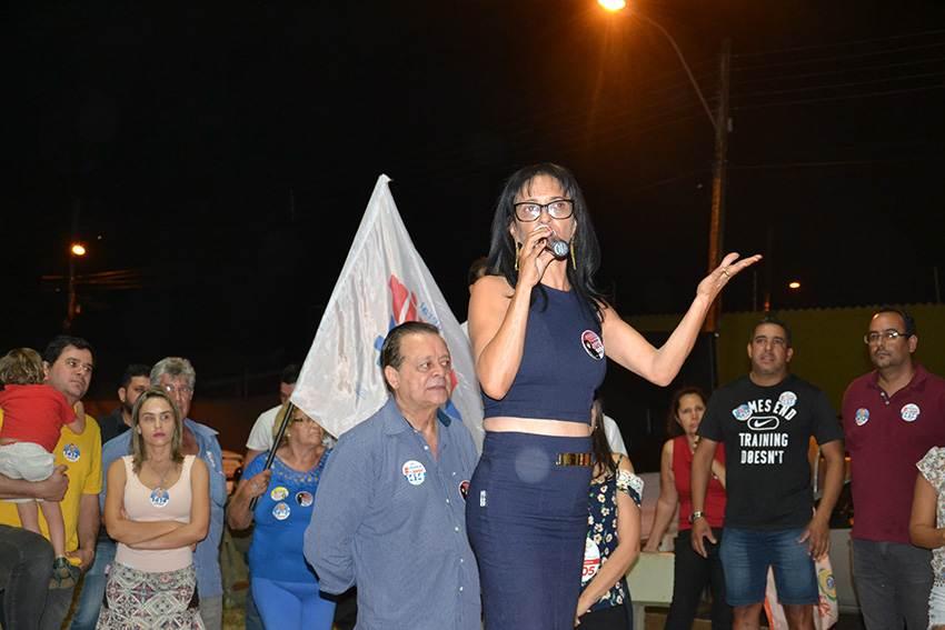 lançamento contou com a presença de Jovair Arantes, deputado federal e líder do PTB em Goiás | Foto: Mel Castro