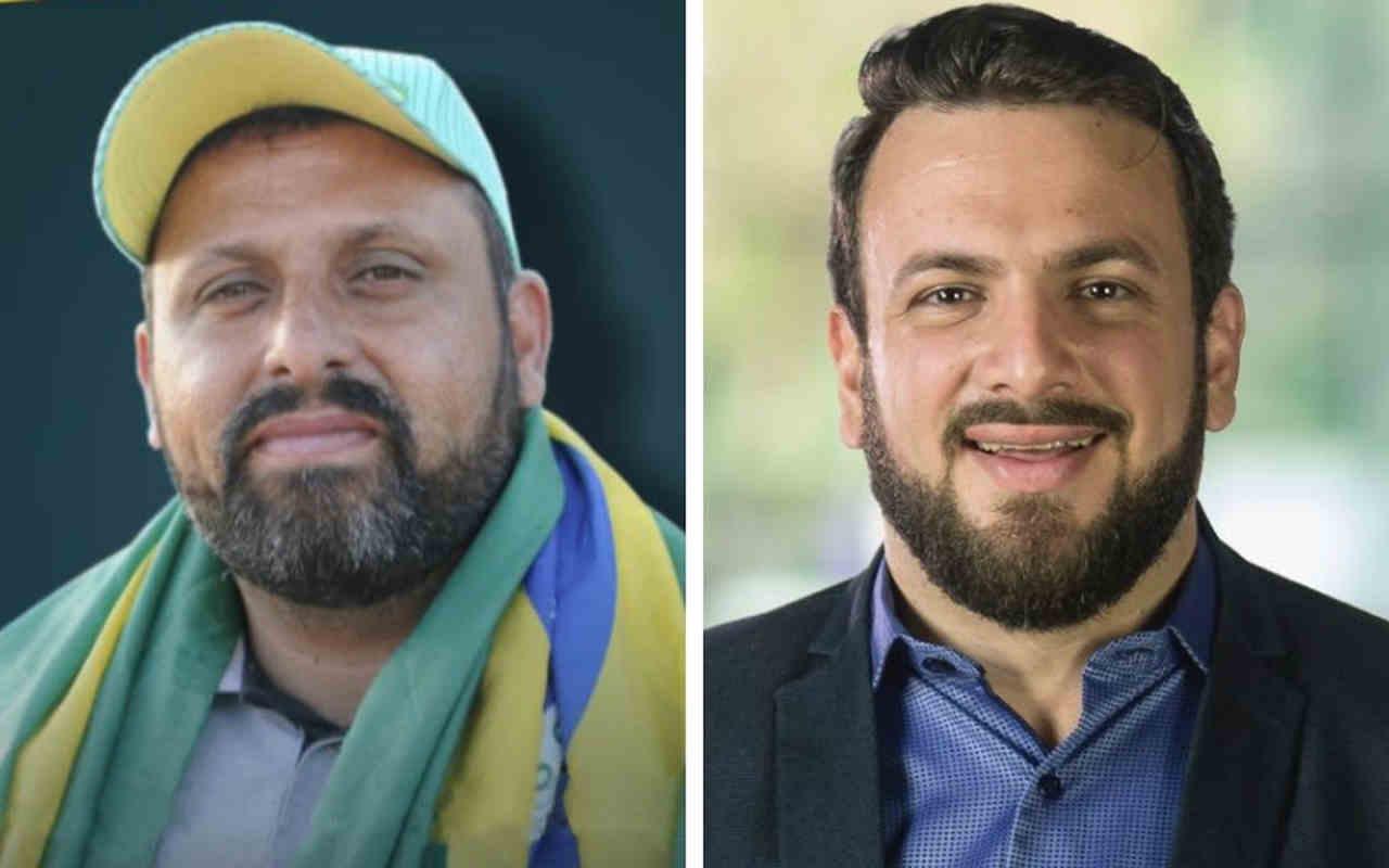 Líder da greve, Chorão Caminhoneiro lança dobradinha com Diogo Melo | Foto: Montagem