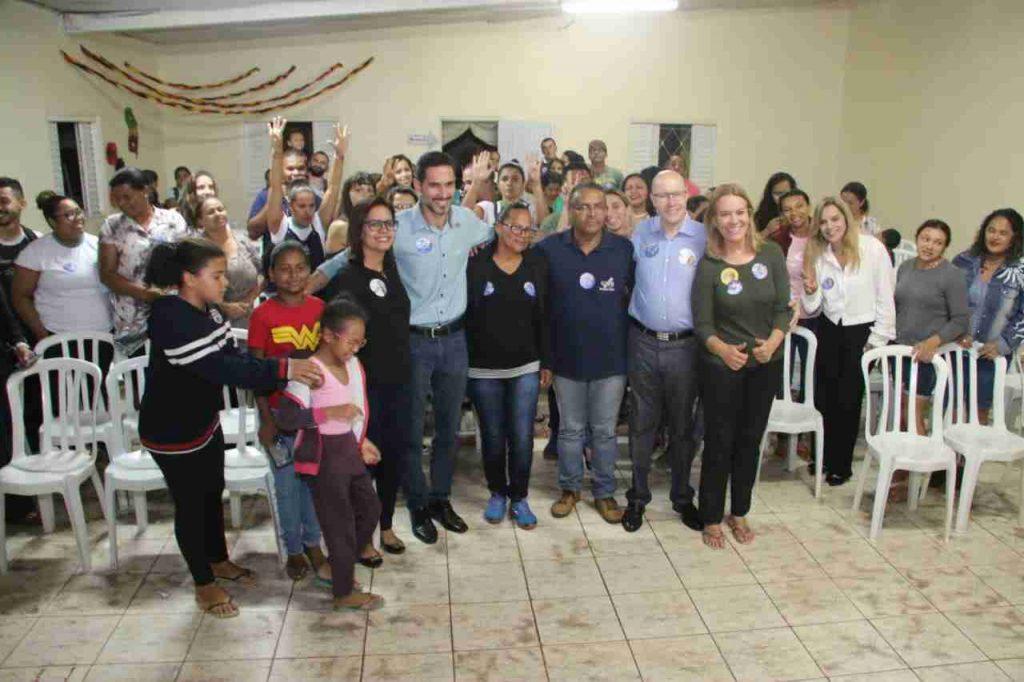 Candidato Demóstenes Torres anuncia investimentos em educação para Valparaíso de Goiás | Foto: Divulgação