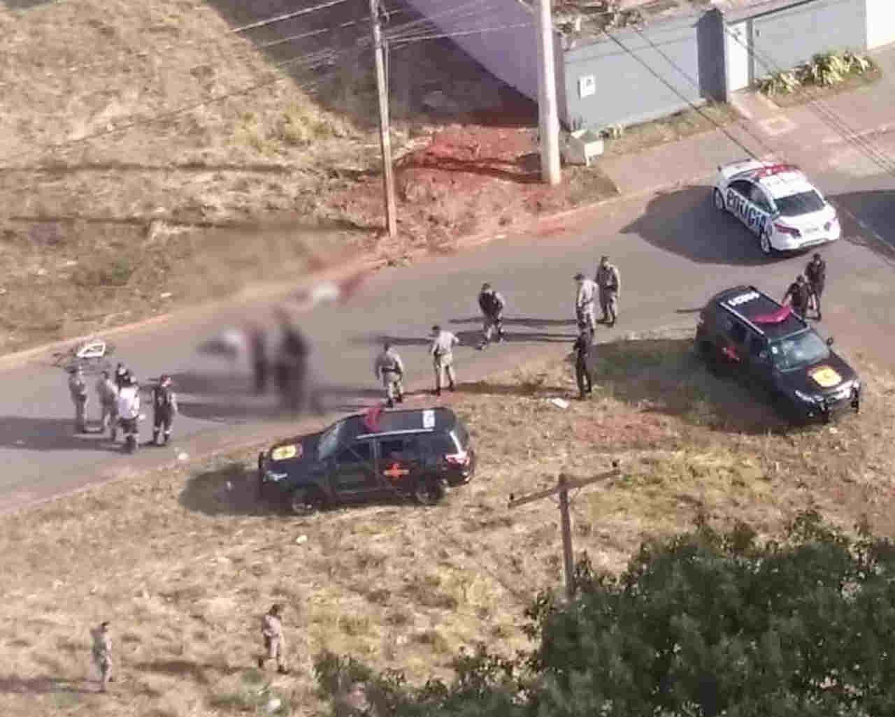 Segundo informações preliminares, vítimas estavam em uma bicicleta em local próximo ao Parque Cascavel, no Jardim Atlântico | Foto: Reprodução