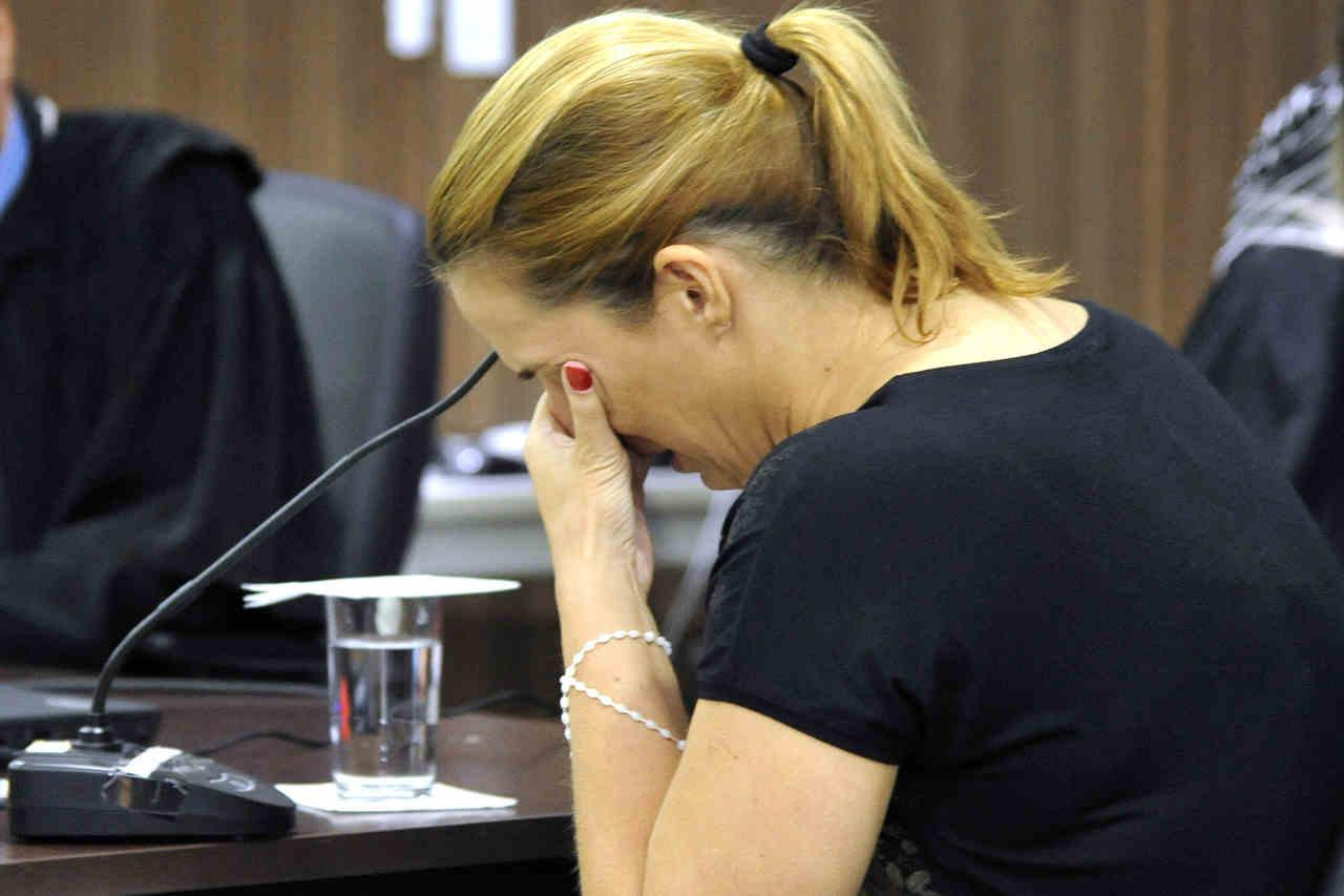 Professora de matemática confessou ter matado a filha recém-nascida | Foto: Aline Caetano / TJGO