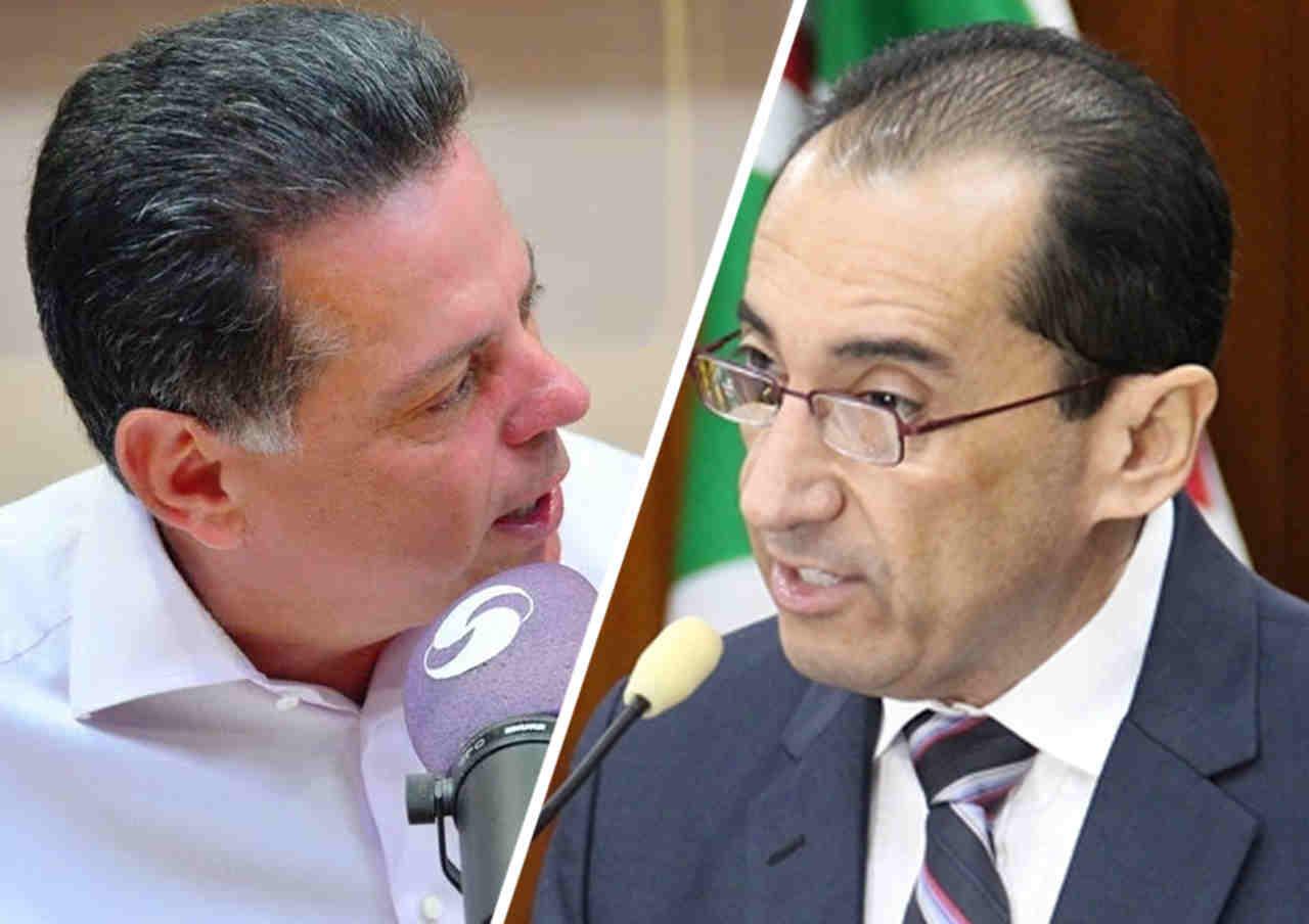 Marconi e Kajuru trocam acusações em meio a acirrada disputa por vagas no Senado | Foto: Montagem