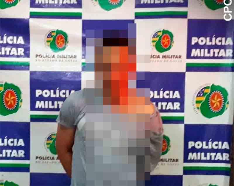 Prisão foi feita em flagrante após homem ejacular em passageira do transporte coletivo em Goiânia | Foto: Divulgação / PM
