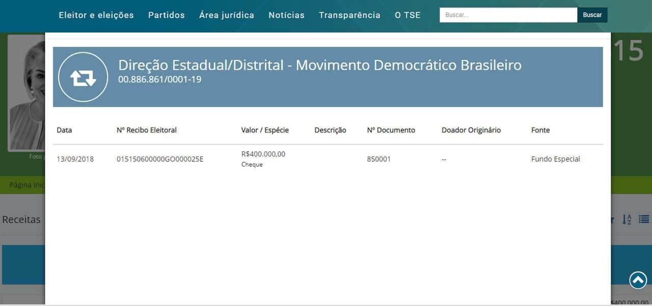 MDB está dividido entre apoiadores de Daniel Vilela e Dona Iris | Foto: Reprodução