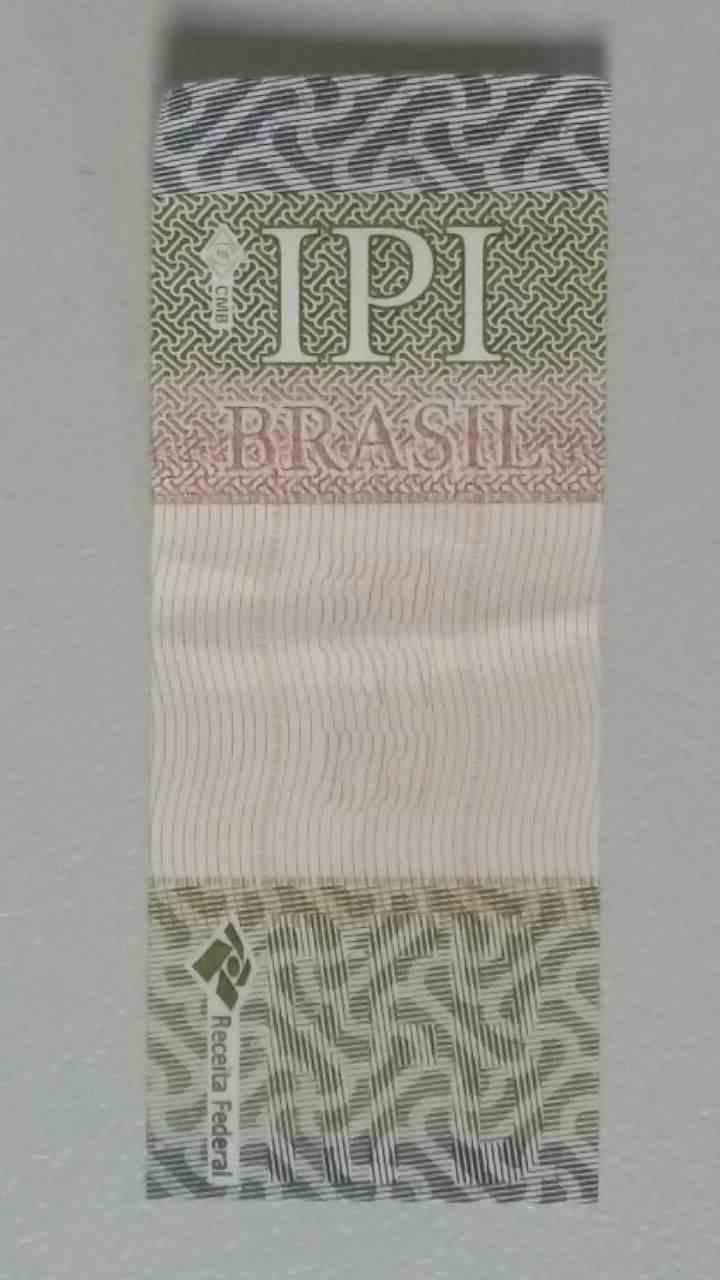 O selo do IPI é um fator importante para garantir a originalidade do produto