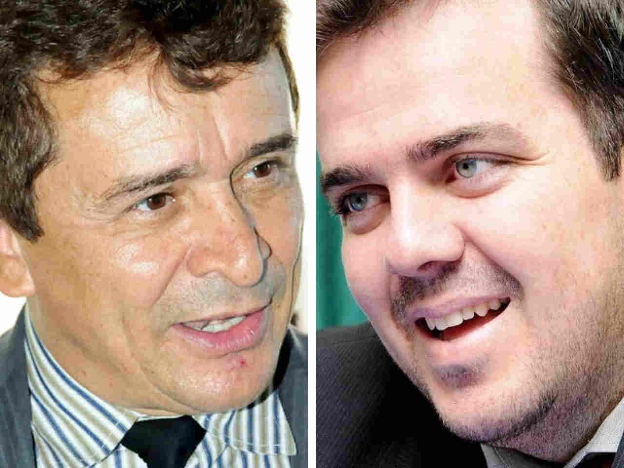 Ezízio Barbosa entregou a carta de demissão ao prefeito Gustavo Mendanha nesta quinta-feira, 17 | Foto: Reprodução