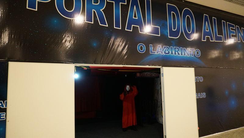 Aparecida Shopping apresenta Portal do Alien | Foto: Divulgação