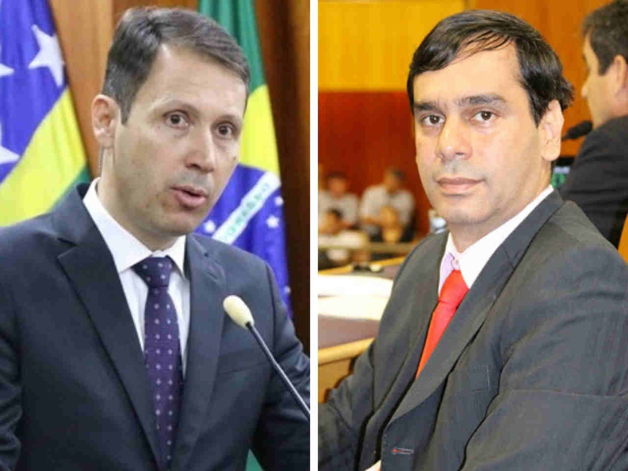 Andrey Azeredo (MDB) e Welington Peixoto (MDB) | Foto: Divulgação