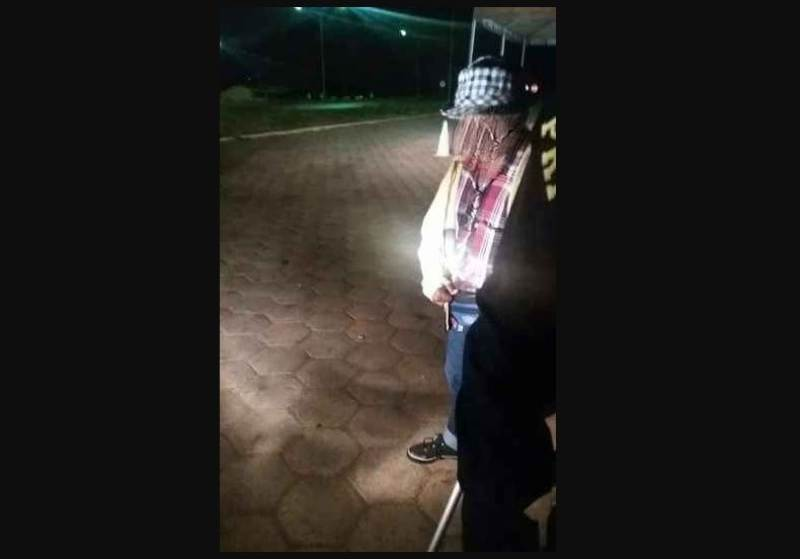 Idoso molesta mulher dentro de ônibus em Formosa (GO) e é preso   Foto: Reprodução