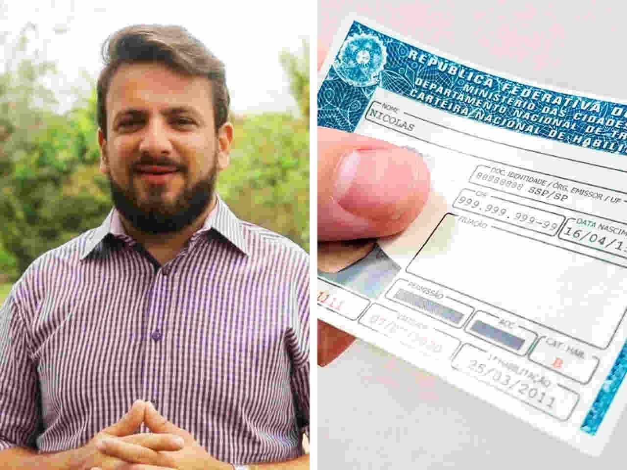 Candidato a deputado quer implantar a CNH gratuita em Goiás   Foto: Divulgação