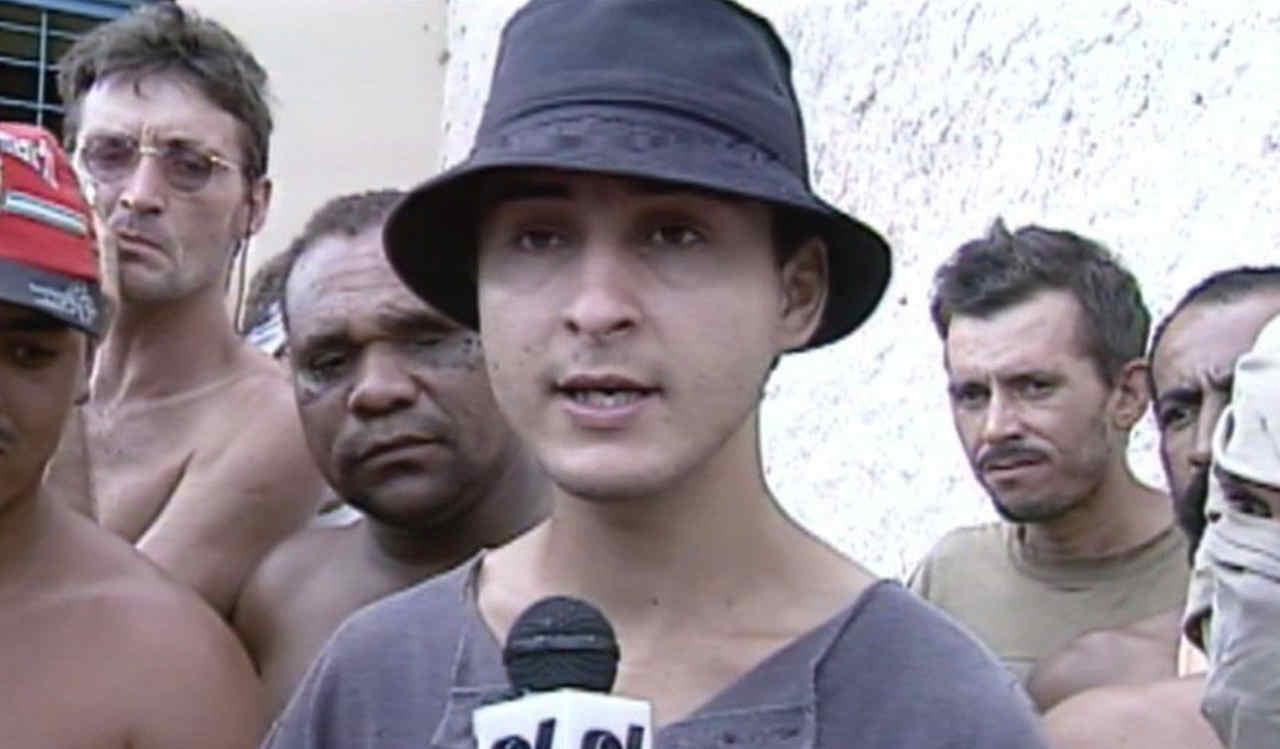 Pareja era o líder e porta-voz dos presos rebelados no Cepaigo | Foto: Reprodução / TV Anhanguera