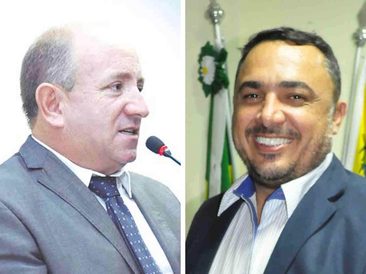 Inicia articulação para escolher nova presidência da Câmara de Aparecida entre Vilmarzin (MDB) e André Fortaleza (PRTB) | Foto: Montagem