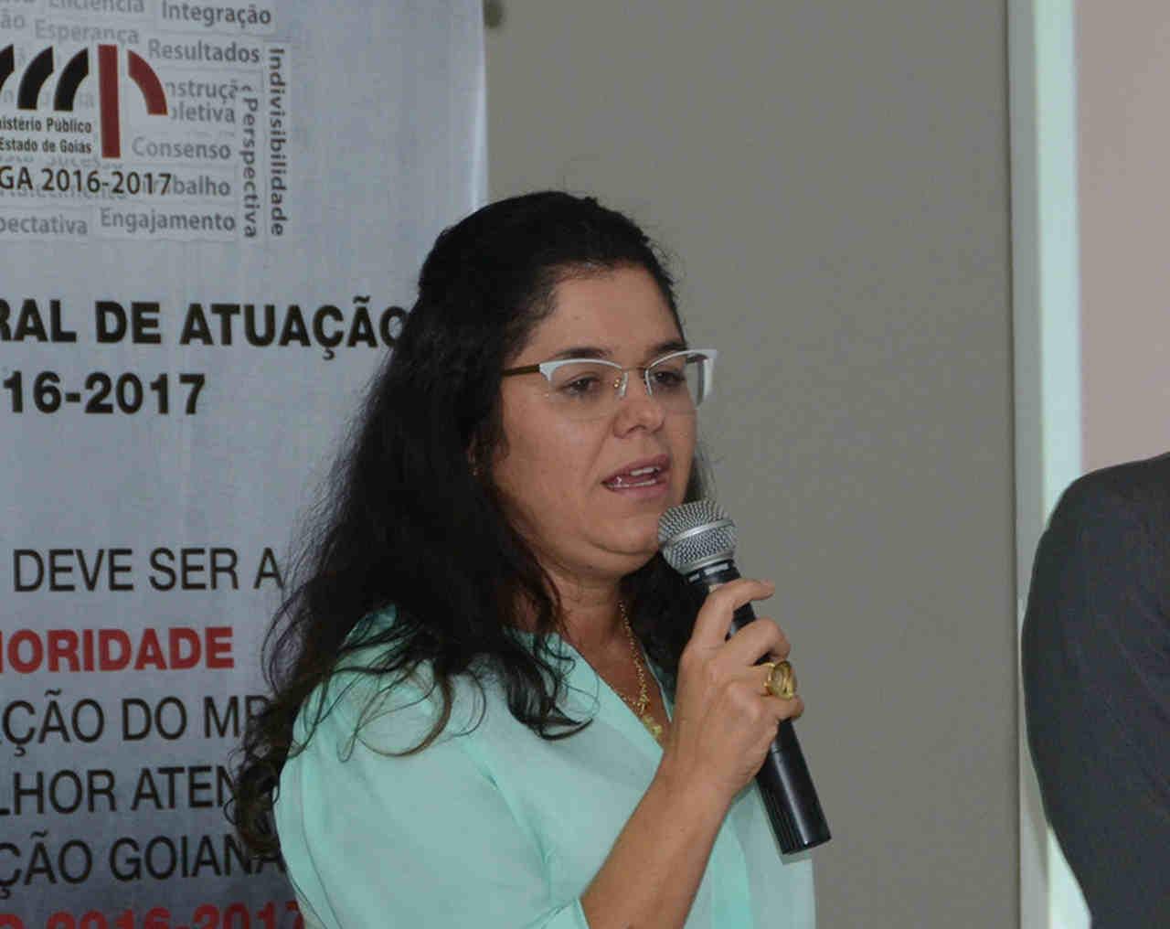 Promotora Suelena Carneiro Caetano | Foto: MPGO