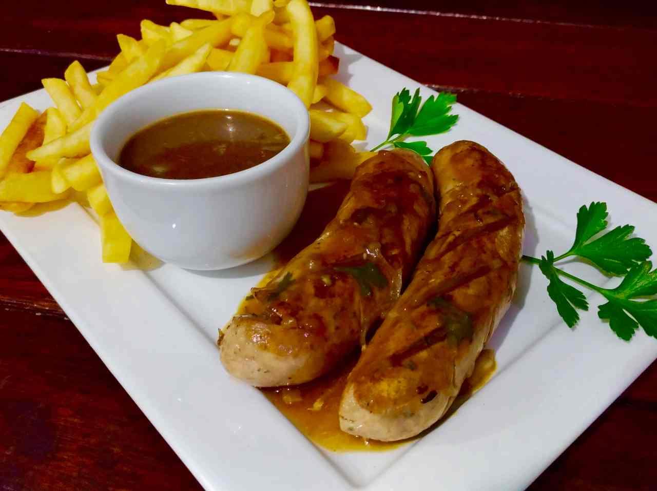 O cardápio do Festival Alemão do Glória tem desde o petisco de salsichão ao tradicional chopp | Foto: divulgação