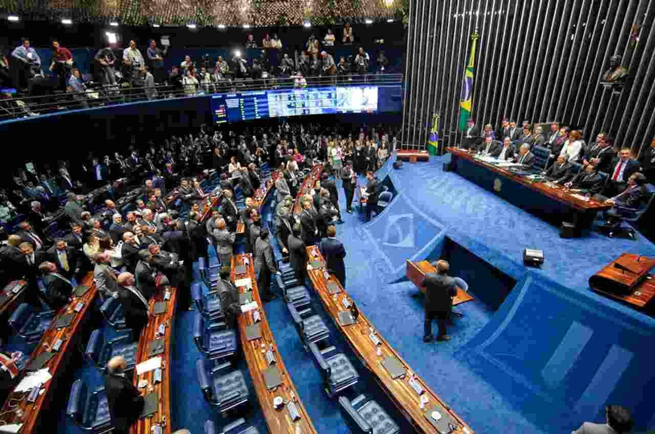 Local de trabalho dos senadores, o Senado Federal fica em Brasília | Foto: divulgação