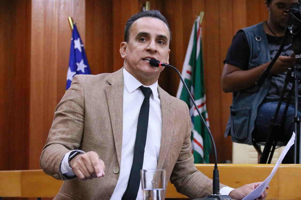 Vereador Zander Fábio | Foto: Divulgação / Câmara