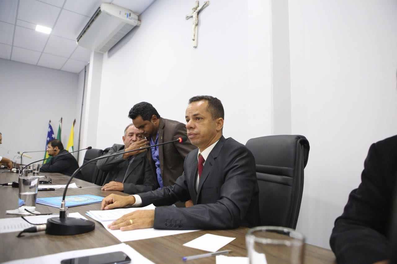 Vereador Isaac Martins (PR) | Foto: Câmara de Aparecida