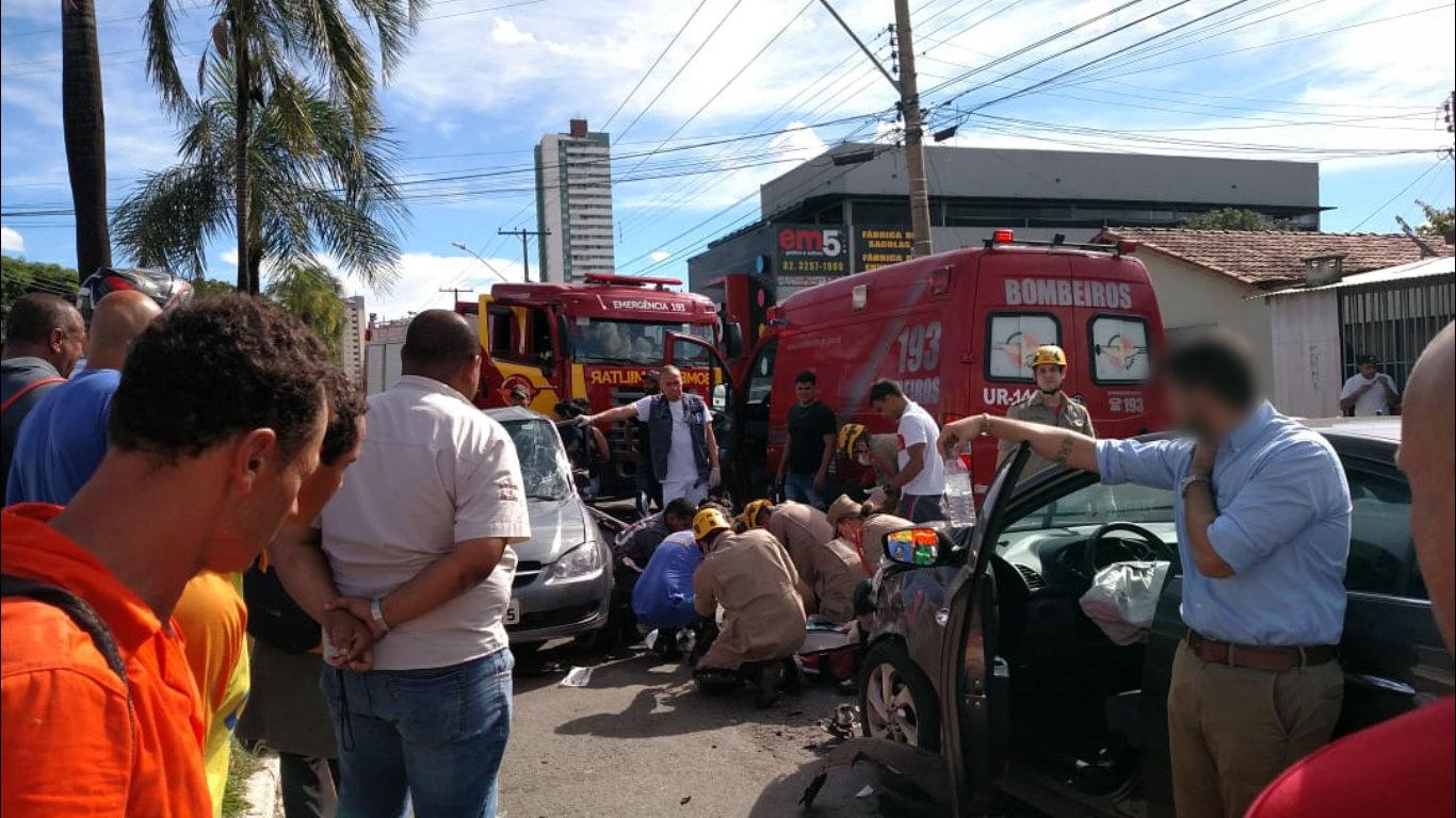 Acidente grave no Jardim América deixou uma vítima fatal nesta sexta, 26 | Foto: Leitor / Folha Z
