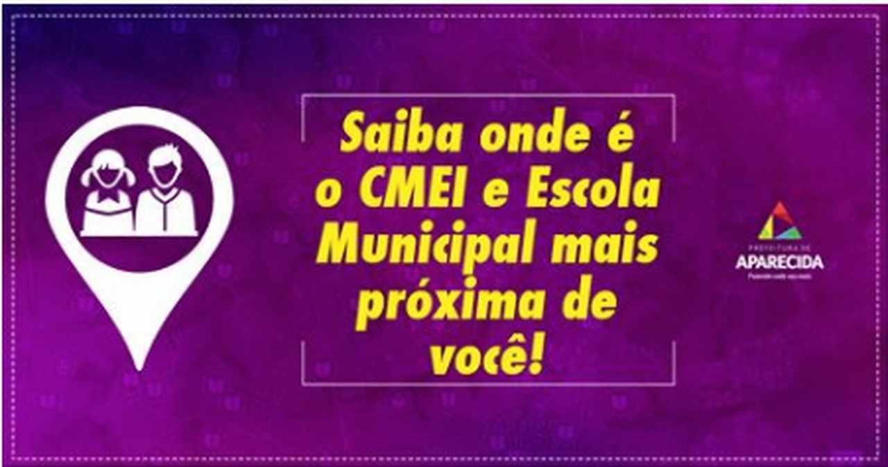 Encontre o CMEI em Aparecida de Goiânia mais próximo da sua casa | Foto: Divulgação
