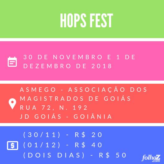 Serviço do Hops Fest, o Festival Nacional de Cervejas Artesanais | Foto: Folha Z