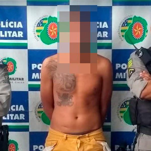 Jovem que filmou enquanto matava em Aparecida é preso em Goiânia | Foto: Divulgação / PM