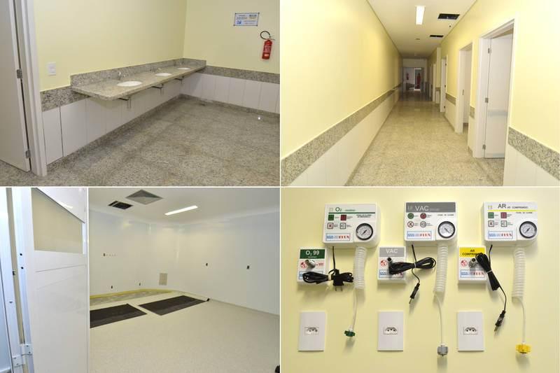 Hospital Municipal possui 21 mil metros quadrados e 230 leitos | Foto: Divulgação