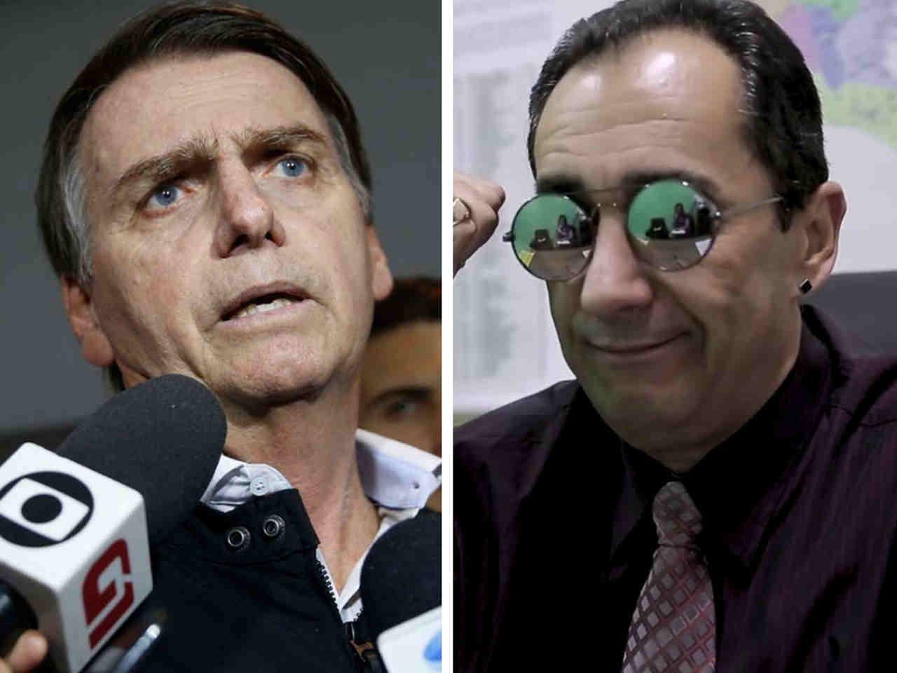 Sobre oposição a Bolsonaro, Kajuru diz que não vai 'jogar contra o Brasil' | Foto: Montagem