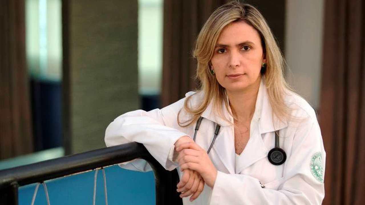 Médica Ludhmila Hajjar trabalha no hospital Sírio Libanes. Caiado é amigo da família | Foto: Reprodução