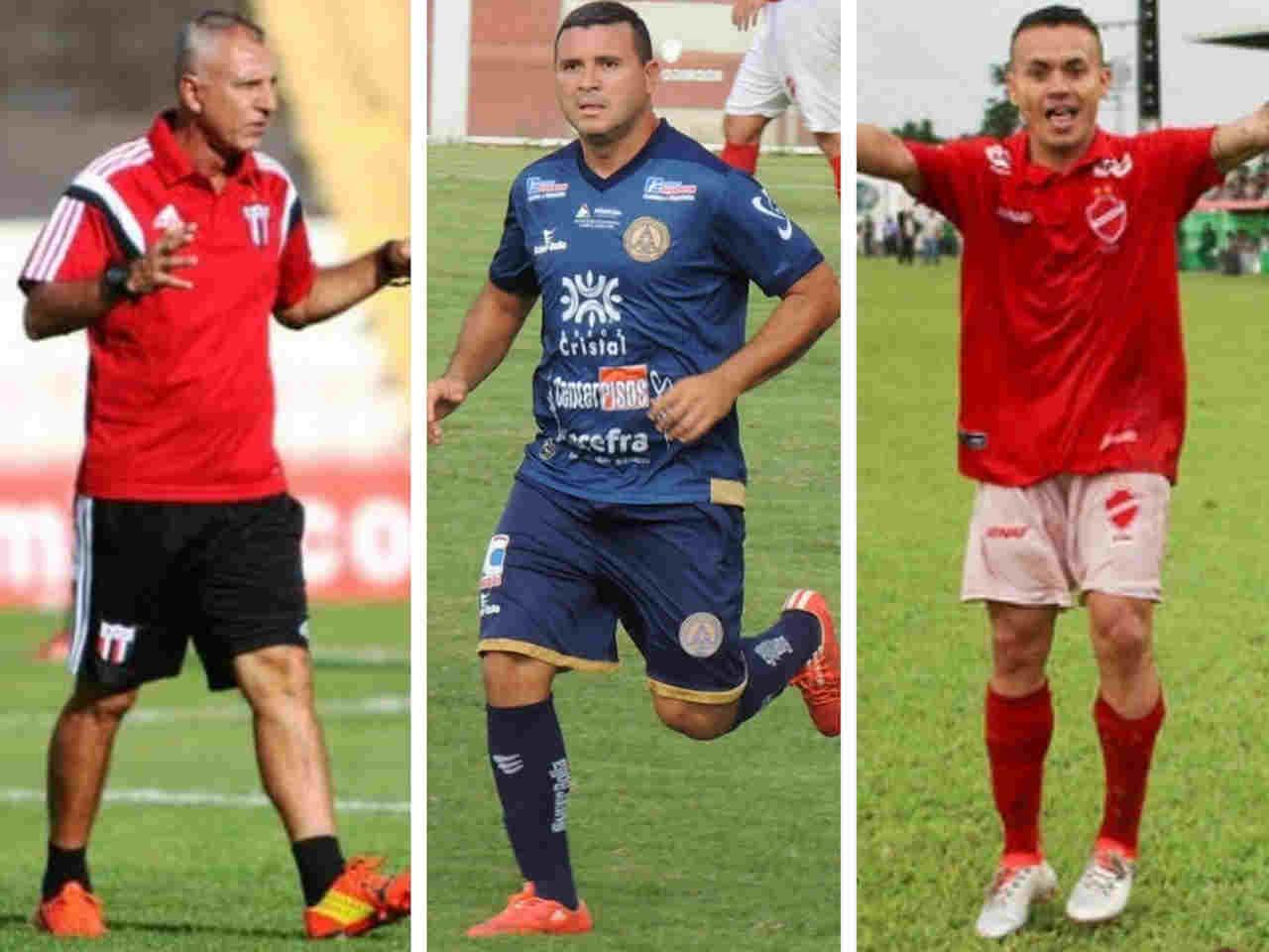 Moisés, Nonato e Márcio Fernandes são confirmados na Aparecidense | Foto: Reprodução