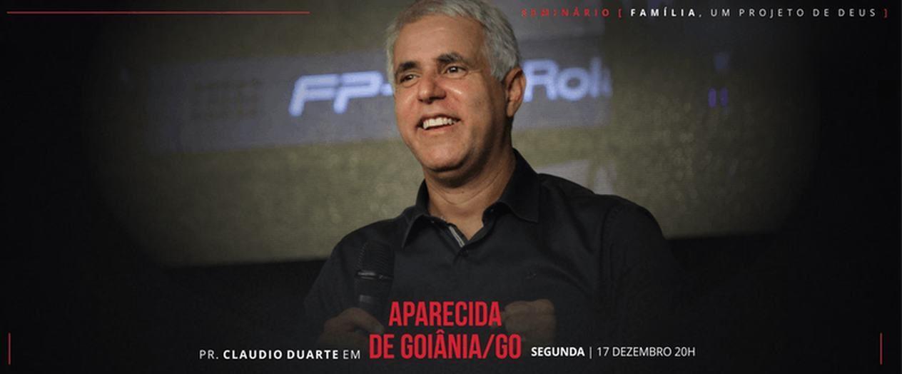 Pastor Cláudio Duarte apresenta o Seminário 'Família, um projeto de Deus' | Foto: divulgação