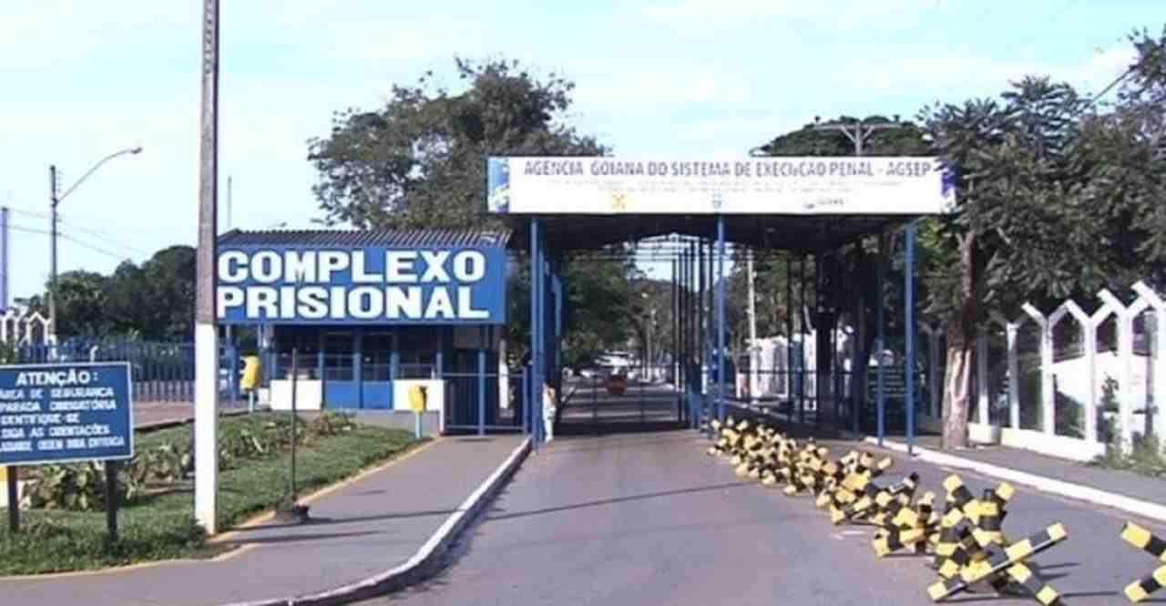 Penitenciária Odenir Guimarães, em Aparecida de Goiânia, enfrenta racionamento de água | Foto: Reprodução