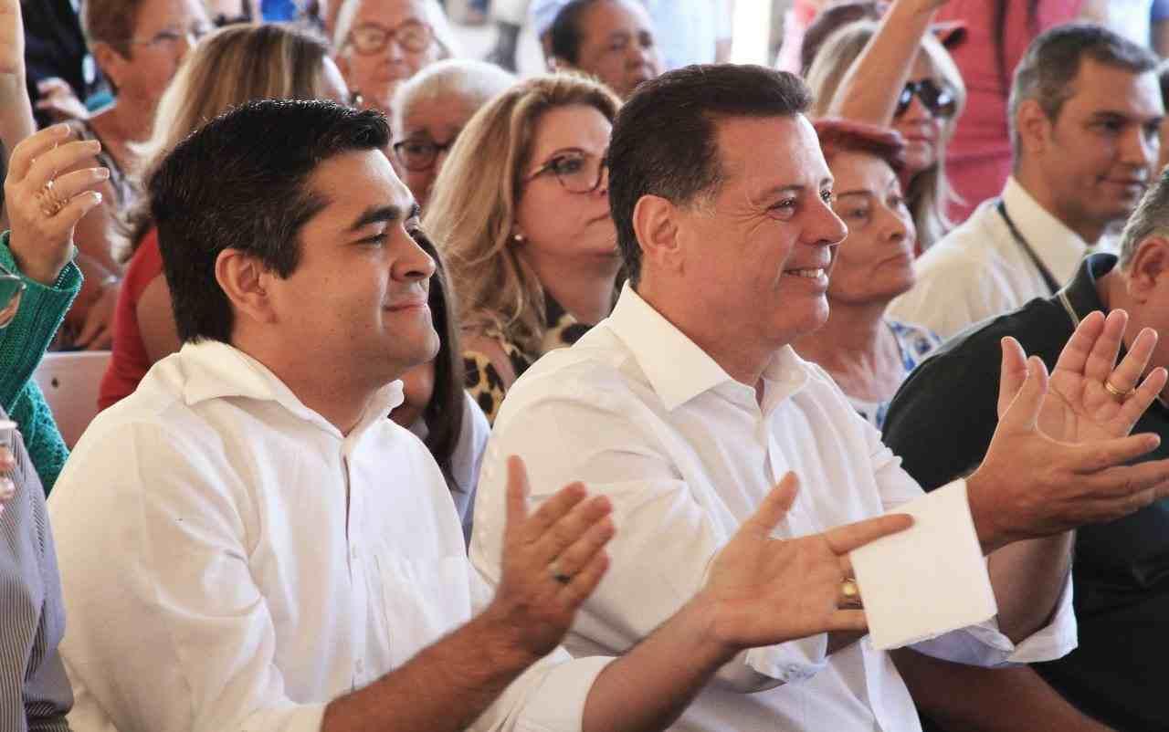 Após rompimento com o PT, Tayrone filiou-se ao PSDB de Marconi Perillo   Foto: Reprodução
