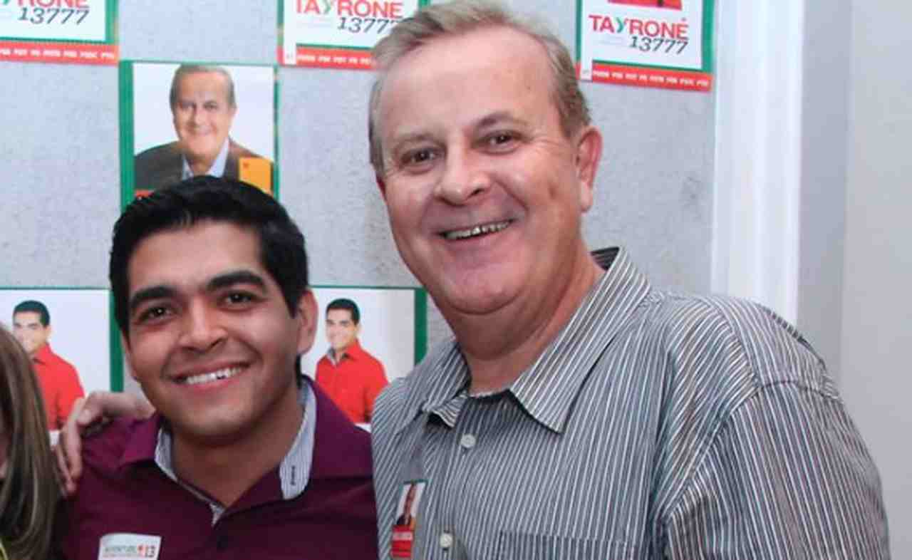 Tayrone di Martino foi assessor de imprensado prefeito Paulo Garcia   Foto: Reprodução