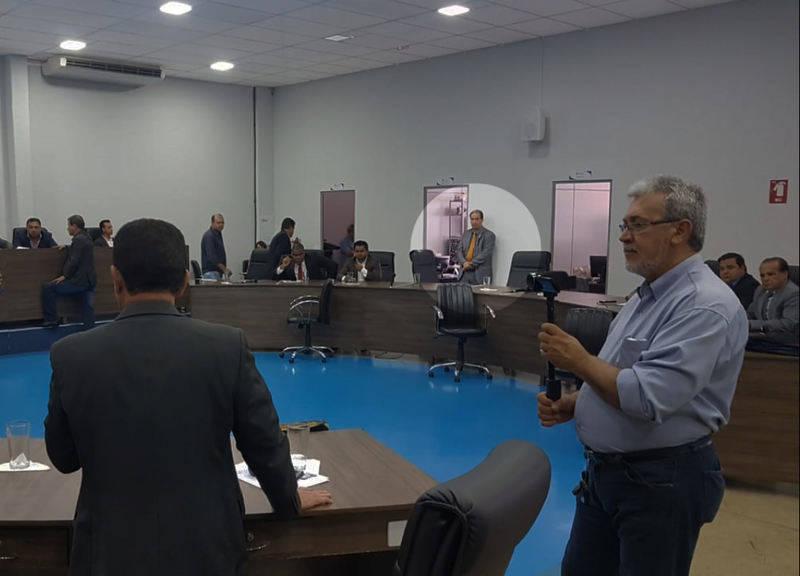 Executivo chegou a enviar o secretário da Casa Civil Einstein Paniago, na tentativa de articular a manutenção do veto | Foto: Folha Z