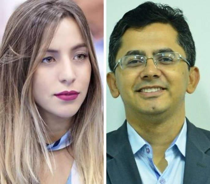 Ana Clara Dias e Ozeias Laurentino Júnior | Foto: Montagem