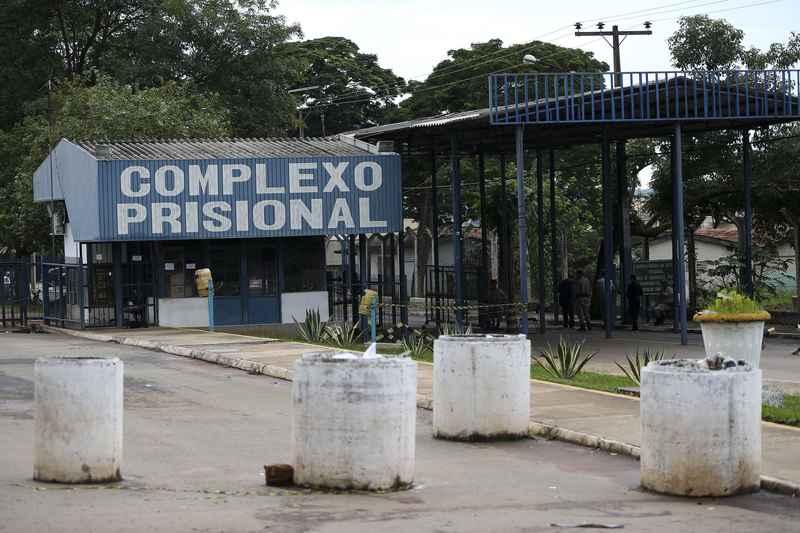 Custódia do Complexo Prisional de Aparecida de Goiânia | Foto: Marcelo Camargo / Agência Brasil