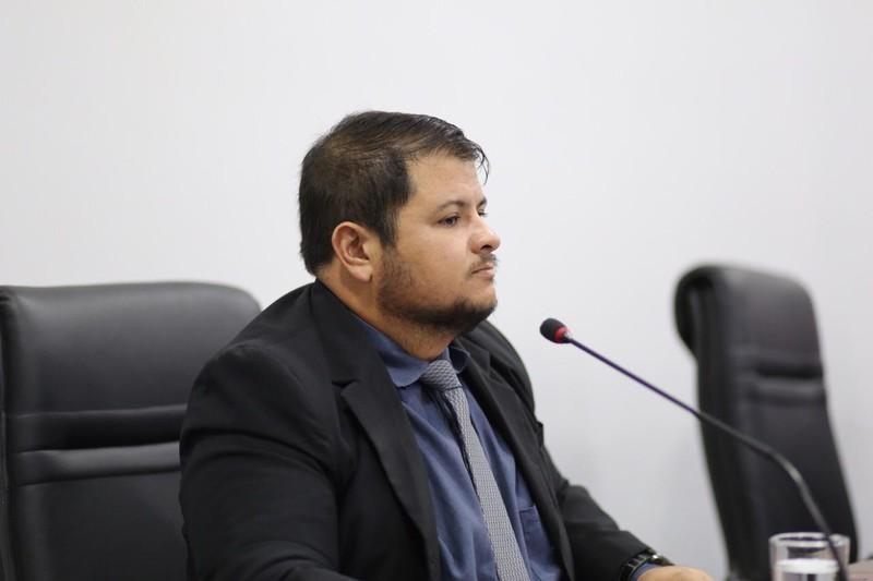 Vereador Willian Panda (PCdoB) | Foto: Assessoria / Câmara