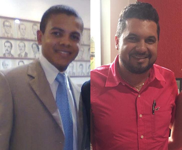Alex Atanásio e Rômulo Fofão são cotados para assumirem a Diretoria de Comunicação da Câmara Municipal de Aparecida | Foto: Reprodução