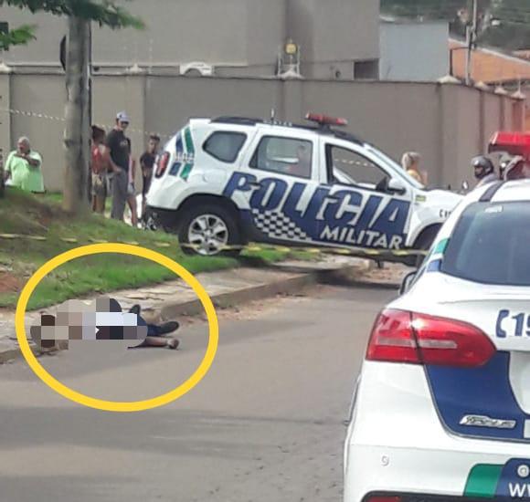 Homicídio Aparecida de Goiânia