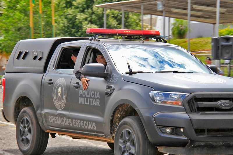Após amarrar morador e assaltar apartamento, ladrões fogem no Setor Oeste e são procurados pela Polícia Militar | Foto: Ilustrativa